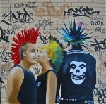 Punk Rock Canvas